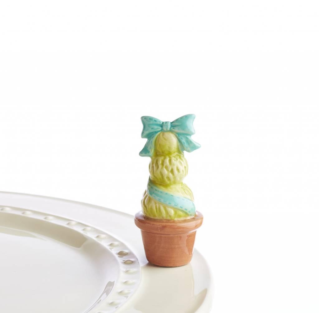 Nora Fleming Mini Garden of Joy Blue