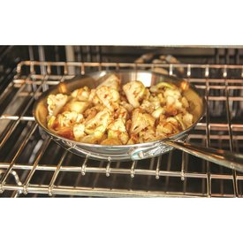 """All Clad d3 Armor Fry Pan Stainless Steel 12"""""""