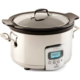 All Clad 4 Qt. Stainless Steel Slow Cooker