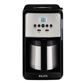 Krups Savoy Thermal Coffee Maker Black