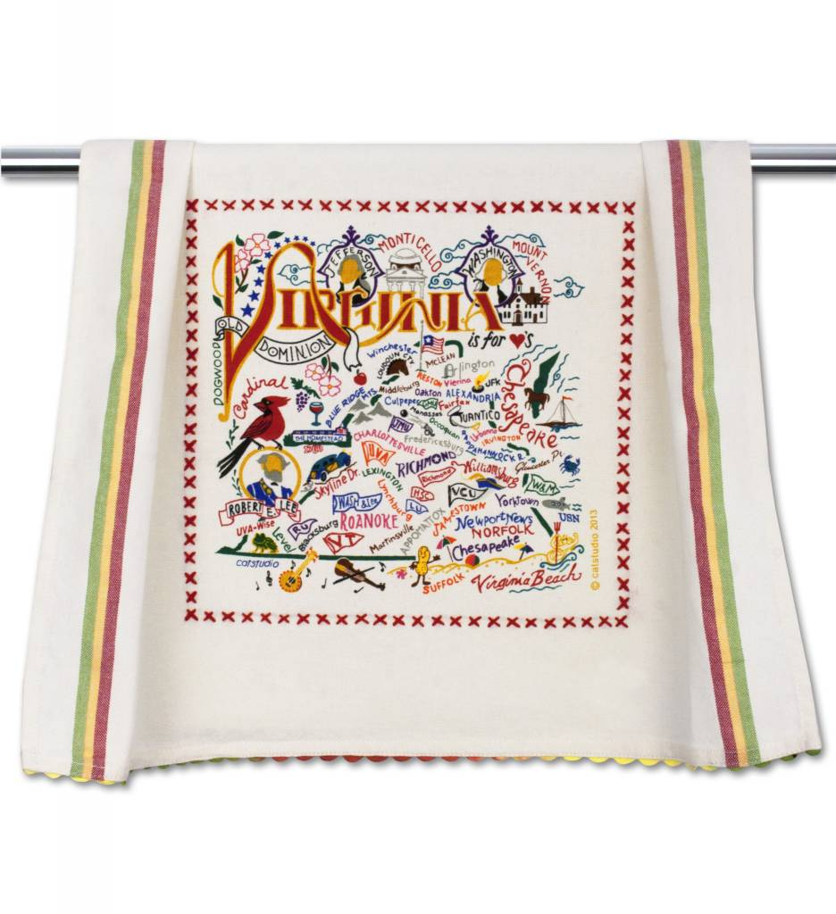 Catstudio Southeast Region Dish Towels