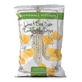 Stonewall Kitchen Lime & Sea Salt Corn Tortilla Chips