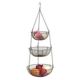 Bronze Hanging Basket