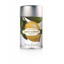 Tea Forte Loose Tea Canister, Lemon Sorbetti