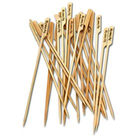 Big Green Egg Skewers – All Natural Bamboo