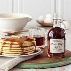 Granola, Grits, Pancakes & Syrups