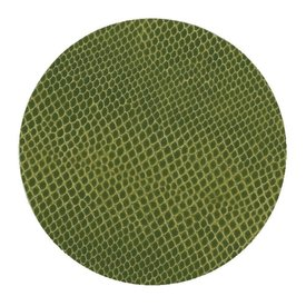Evergreen Snakeskin Coaster