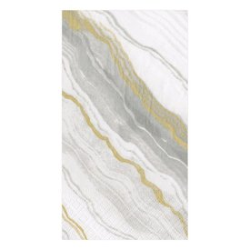 Marble Grey Guest Towel