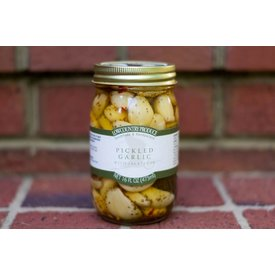 Lowcountry Produce Pickled Garlic with Jalepenos