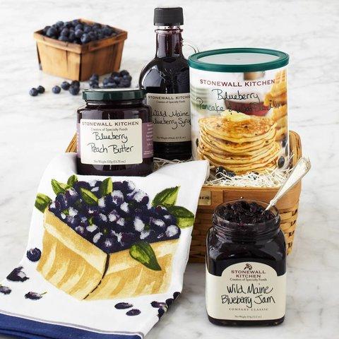 Blueberry Breakfast Basket