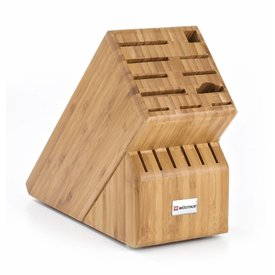 Wüsthof 17 Slot Bamboo Knife Block