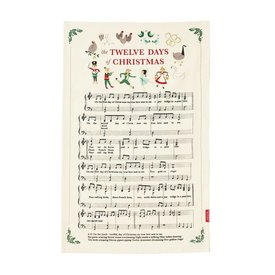Stonewall Kitchen 12 Days of Christmas Towel