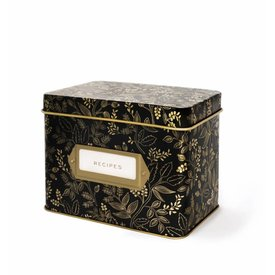 Queen Anne Recipe Box