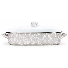 Taupe Swirl Lasagna Set