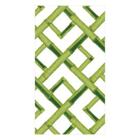 Bamboo Paper Guest Towel Napkins in Green