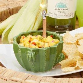 Cactus Bowl & Spoon Set