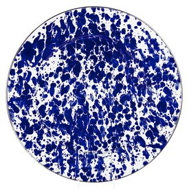 Cobalt Swirl Charger