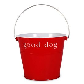 Red Gift Bucket