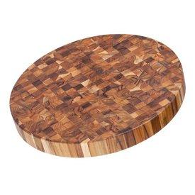 Circle Teak Cutting Board