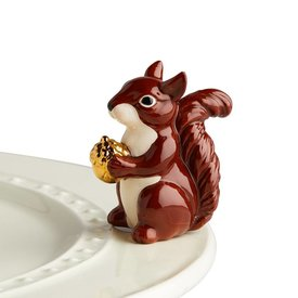 Nora Fleming Mini Sorta Squirrely