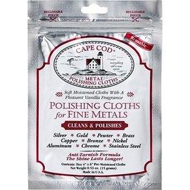 Metal Polishing Cloths Foil Pouch