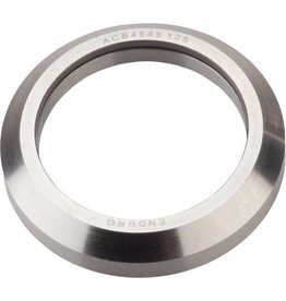 """Wheels Manufacturing Wheels Manufacturing 1-1/8"""" 45 x 45 degree Stainless Steel Angular Contact Bearing 30.2mm ID x 41.8mm OD"""