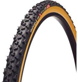 Challenge Limus Tire: Tubular, 700x33, 300tpi, Black/Tan