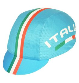 Pace Italia Blue Coolmax Cycling Cap