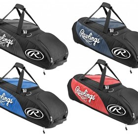 Rawlings Player Preferred wheel bag All Red