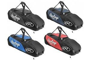 Rawlings Player Preferred wheel bag All Red