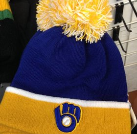 47Brand 47 Brand knit Milwaukee Brewers