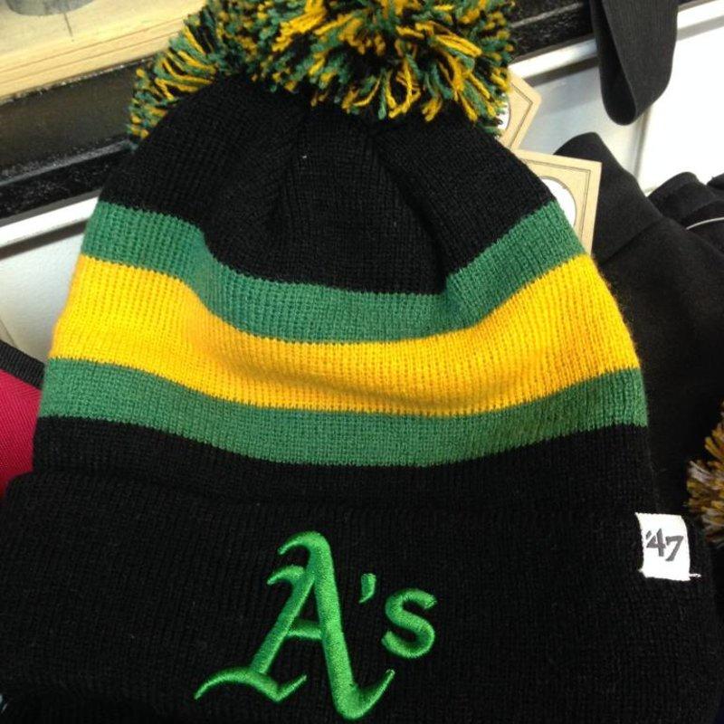 47Brand 47 Brand knit Oakland A's black