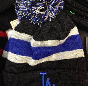 47Brand 47 Brand knit LA Dodgers black