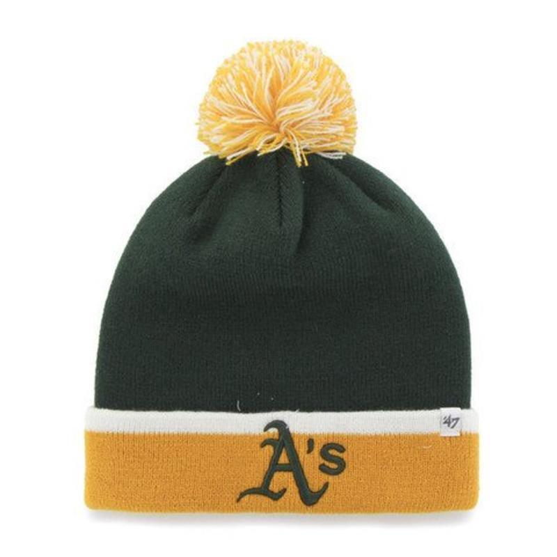 47Brand 47 Brand knit Oakland A's green