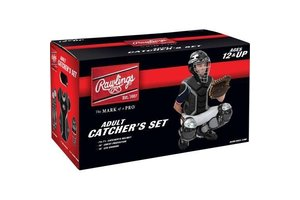 Rawlings Rawlings Catcher Kit Set adult black