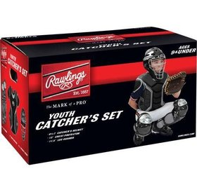 Rawlings Rawlings Player series Catcher Kit Youth Set black (9 and under)