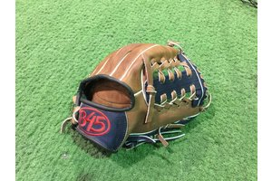 B45 B45 Baseball Glove Youth 11'' Leather Brown/Navy