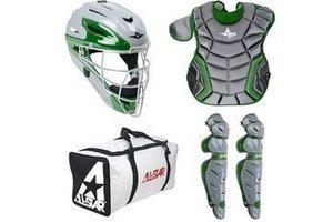All Star All-Star Elite System Seven Catching Kit Dark-Green 9-12