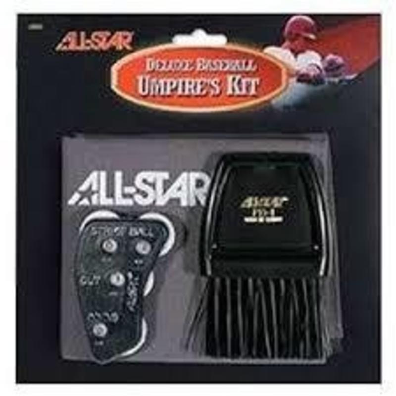 All Star All Star Deluxe Umpire's Kit Grey