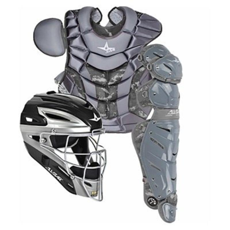 All Star All-Star System 7 Camo Pro Catching Kit Black 9-12