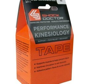 Shock Doctor Shock Doctor Kinesiology Tape Red
