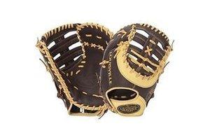 Louisville Slugger LS Omaha Select First Base Glove Brown RHT