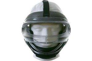 BPS Sport Combat Faceoff Mask Black/Grey L