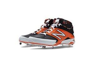 New Balance Athletic shoe inc New Balance M4040BO2 Black/Orange 7.5