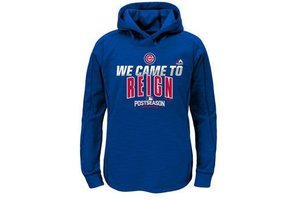 Majestic Majestic Cubs 2016 postseason '' We came to reign'' hoodie