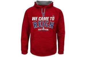 Majestic Majestic Red Sox 2016 postseason '' We came to reign'' hoodie