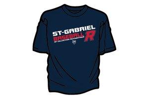 Authentic t-shirt company T-Shirt dry fit avec logo Royaux en serigraphie