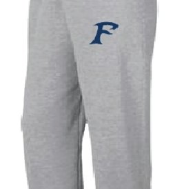 Pantalons Jogging Authentic 100% cotton gris avec logo des Felix-Leclerc