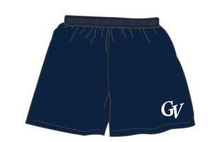 On Field Short On Field bleu marine avec poches GV en serigraphie
