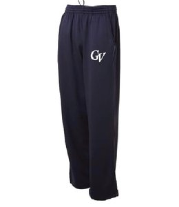Authentic t-shirt company Pantalons Authentic gris 100% polyester avec logo GV en serigraphie